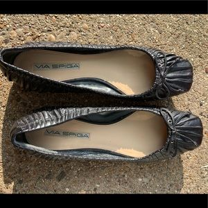 Via Spiga Leather Ballet Flats size 6
